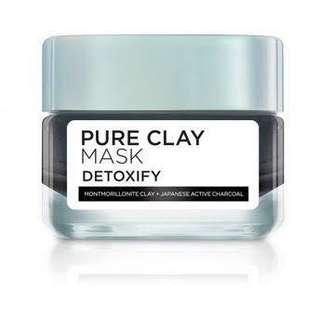 Loreal pure clay mask detoxify 50gr
