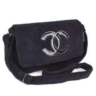 Chanel Plush VIP Sling