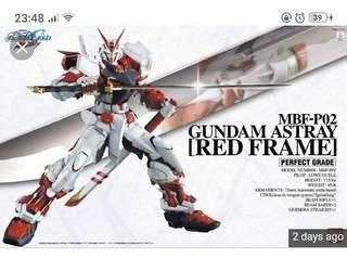 PG gundam astray new or build