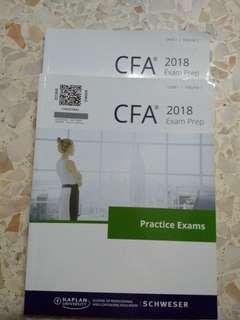CFA Level 1 Schweser practice exams 2018