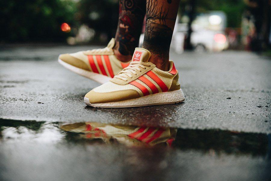 promo code b4488 a8fed Adidas I-5923 Iniki Boost Yellow Orange Red, Men's Fashion, Footwear ...