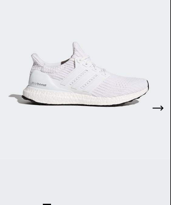 2dec730792 Adidas Ultraboost Shoes White