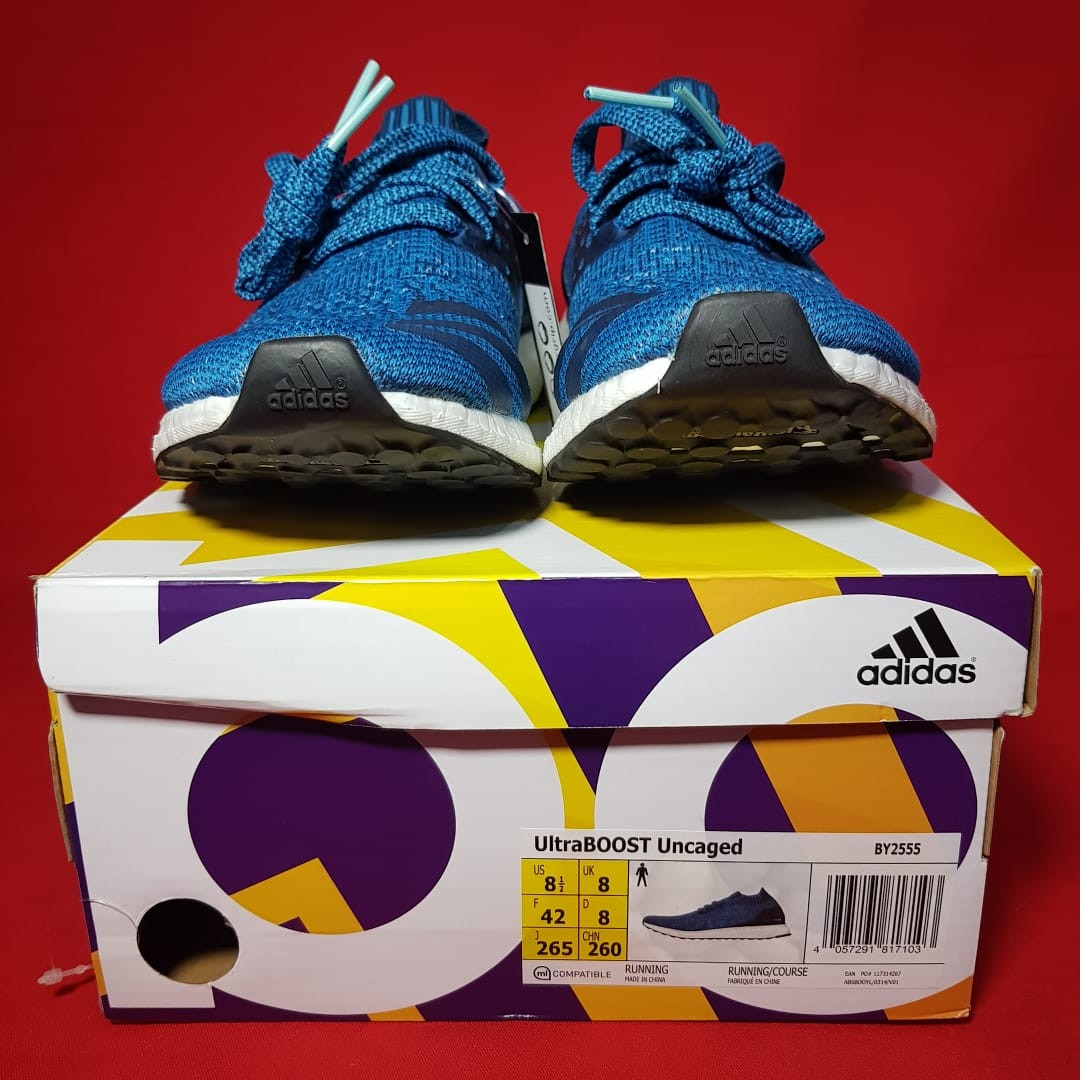 new style b18e1 0bbaa Adidas Ultraboost Uncaged 3.0 Blue Petrol (100% Original), Men s Fashion,  Men s Footwear, Sneakers on Carousell