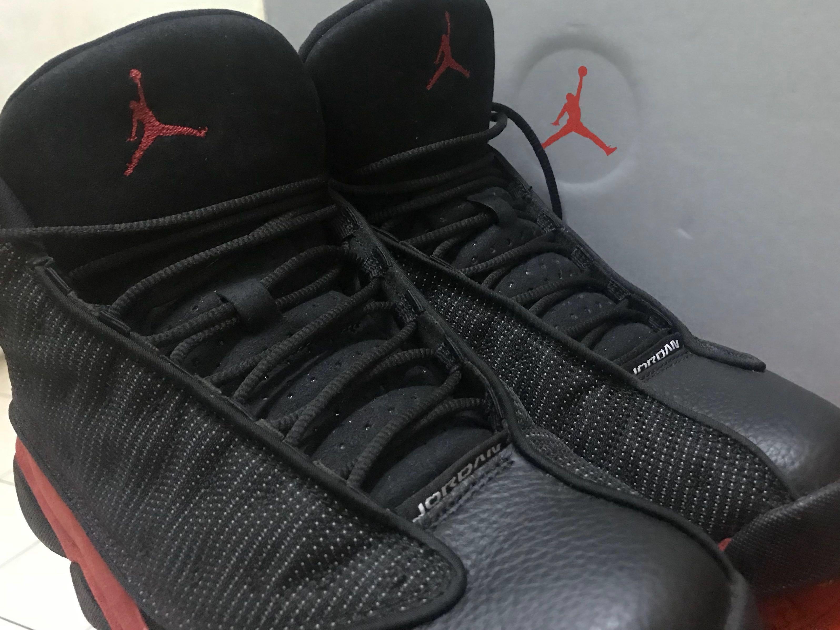 info for 4d529 18006 Air Jordan 13 OG Bred 2017, Men s Fashion, Footwear, Sneakers on ...