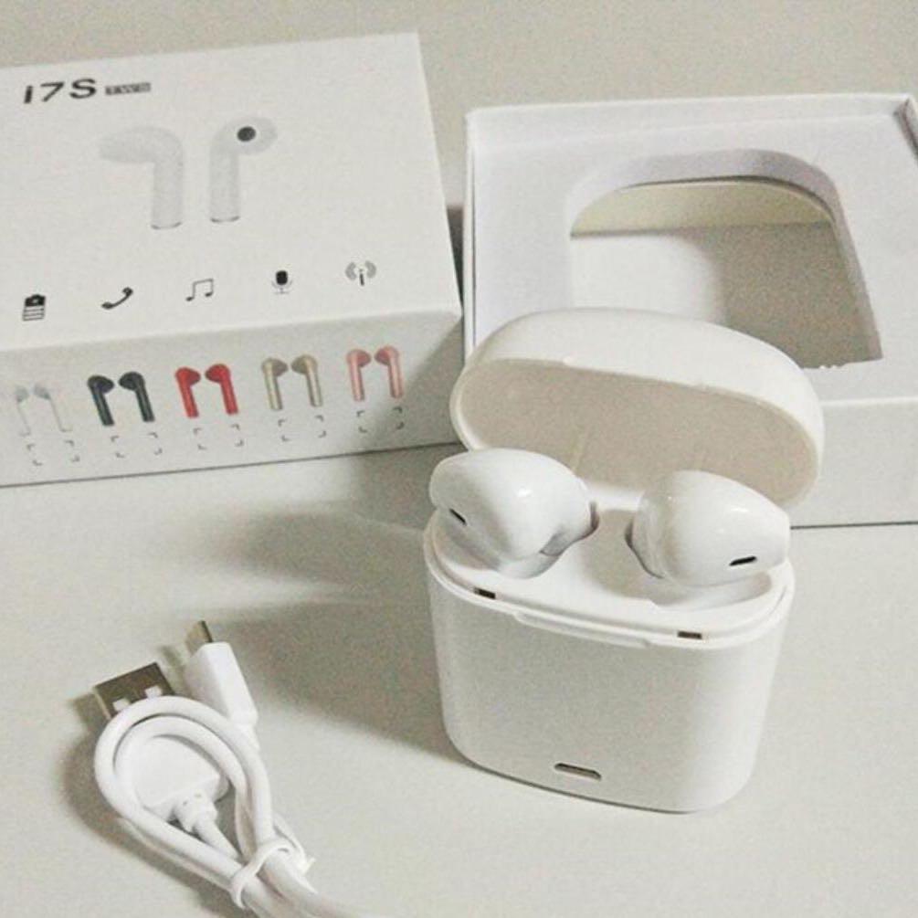 7eb634367af ☆PROMOTION☆ TWS I7S I7 WIRELESS BLUETOOTH EARPODS EARPHONE AIRPOD ...