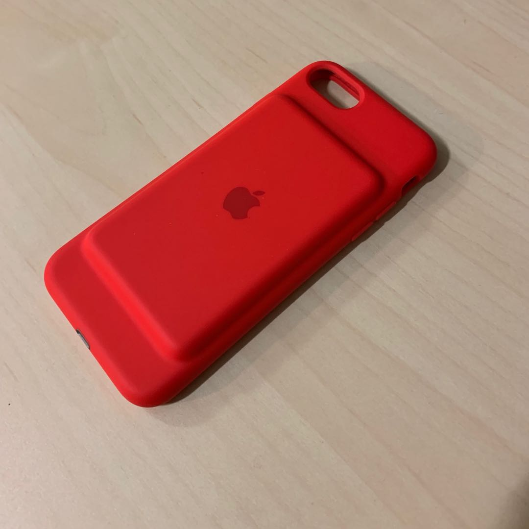 online retailer 1d401 17d14 Apple Smart Battery Case iPhone 7/8 Product Red