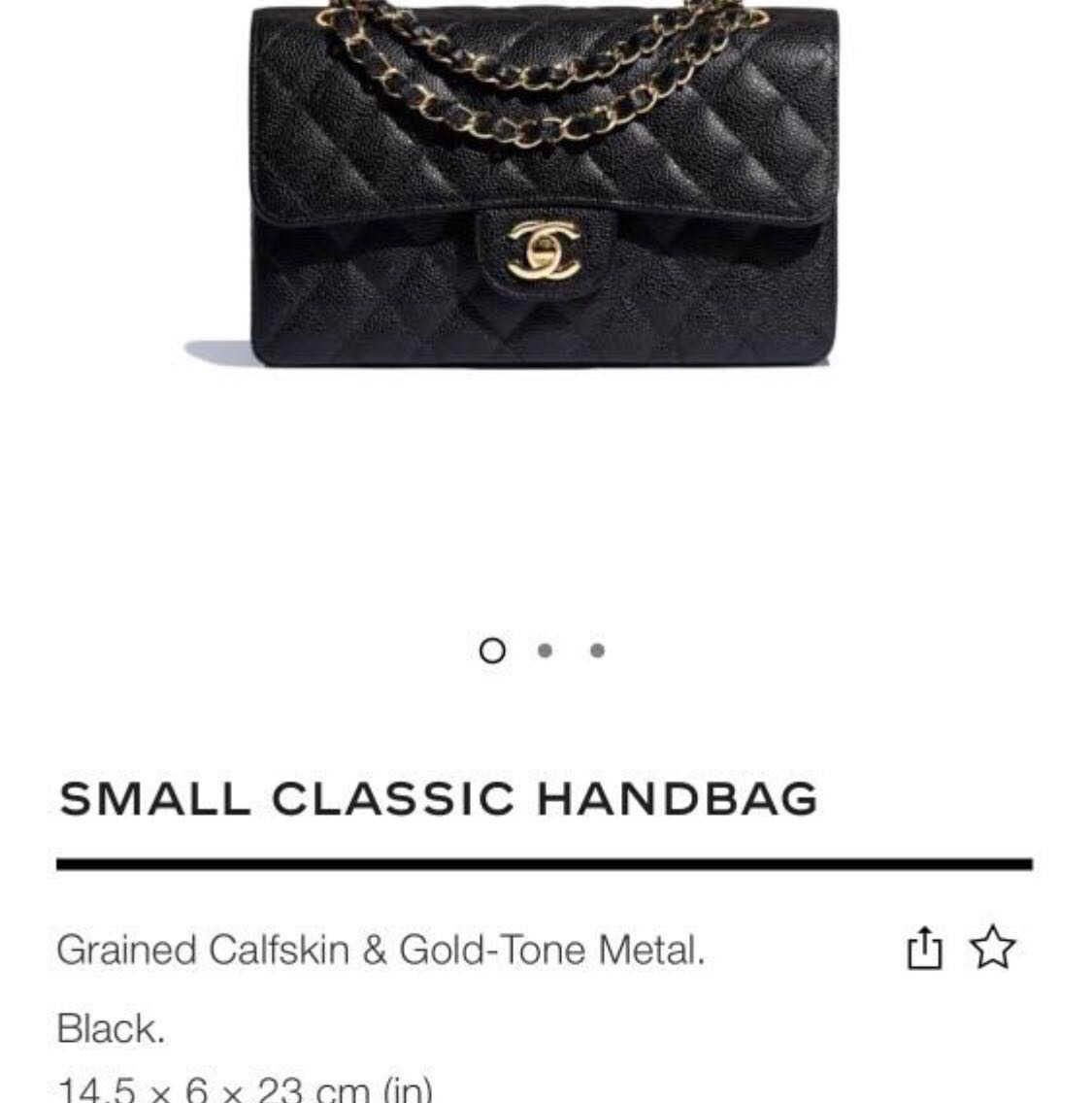 485932e4de3be4 Authentic Chanel small classic handbag, Luxury, Bags & Wallets ...