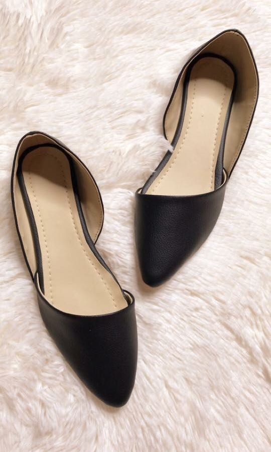 Black Close Shoes for Women, Women's