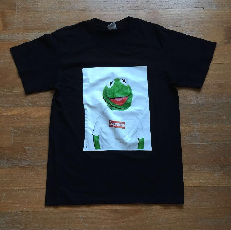 dd6ca957f9c8 BN Supreme Kermit the Frog Tee, Men's Fashion, Clothes, Tops on ...
