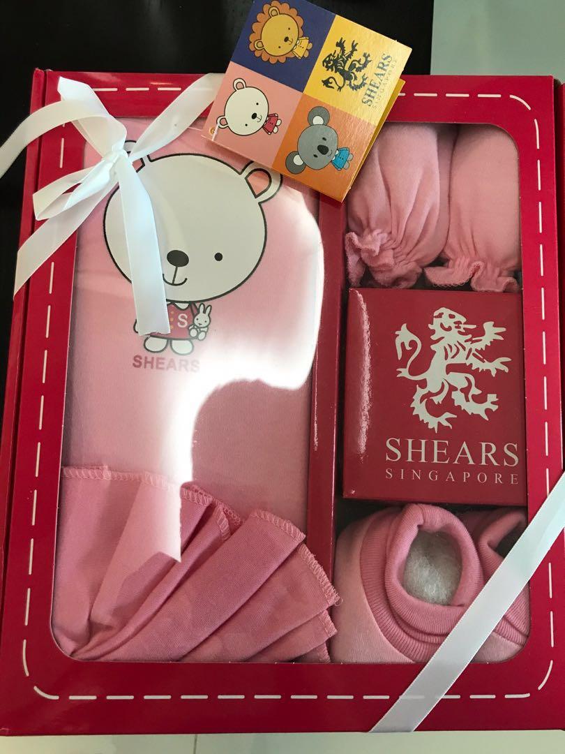 02cbdbf9346b Brand new Shears Baby Girl Newborn Gift Set