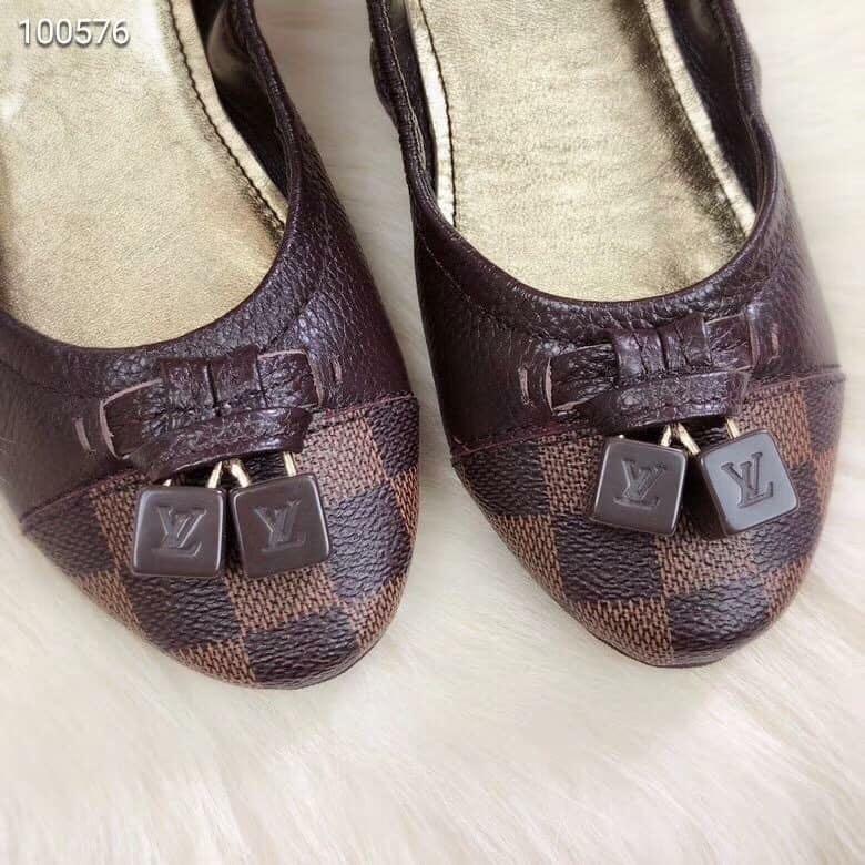 7ffabcdbe299 Brandnew! Authentic Quality LV Louis Vuitton Doll Shoes (Damier ...