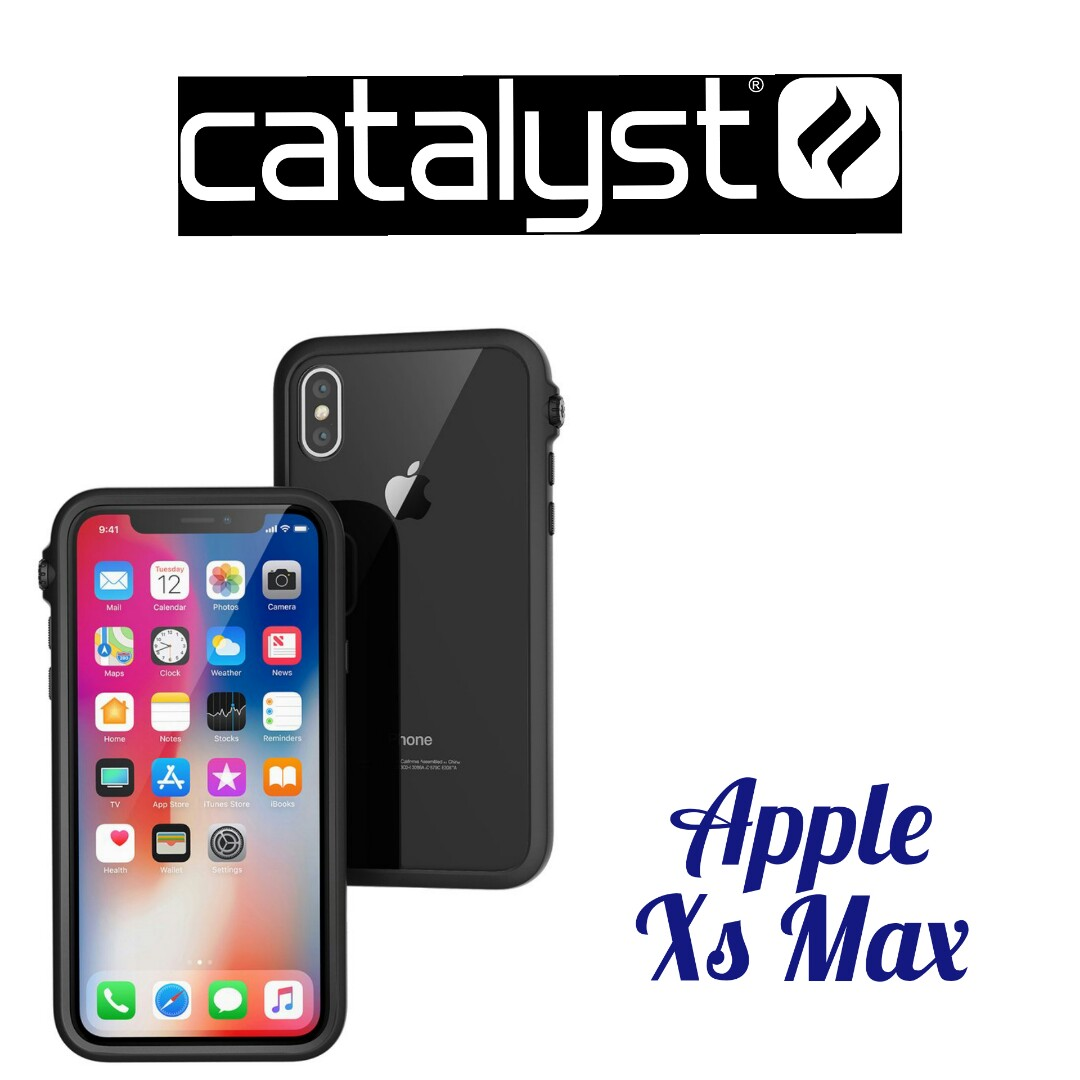 new style e617f 42e1a Catalyst Impact Protection Case Xs Max Black Blue Clear