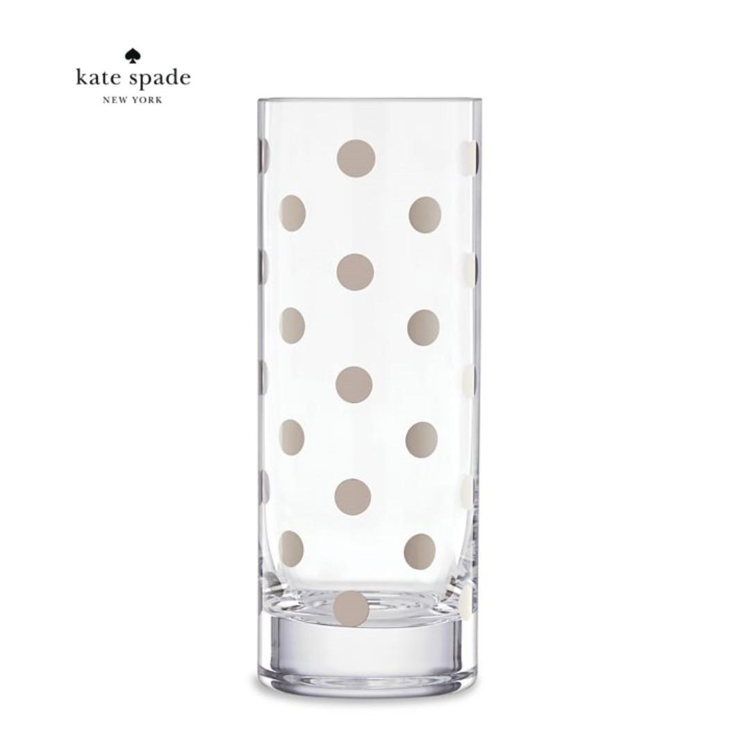 Clearance Authentic Kate Spade Pearl Place Platinum Vase Furniture Home Decor Others On Carousell
