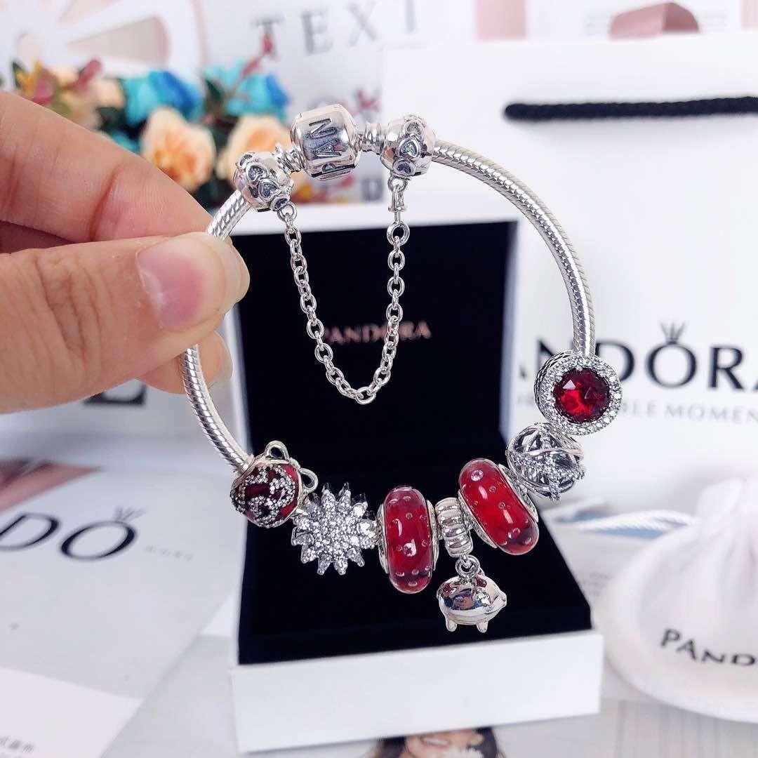 6906e837b 🔥(CNY) Pandora Pig Charm Bracelet, Women's Fashion, Jewellery ...