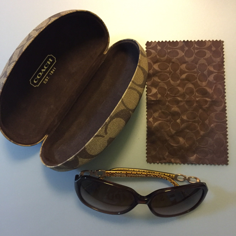 e293091be5514 Coach Sunglasses HC8019 (Brown) 58mm