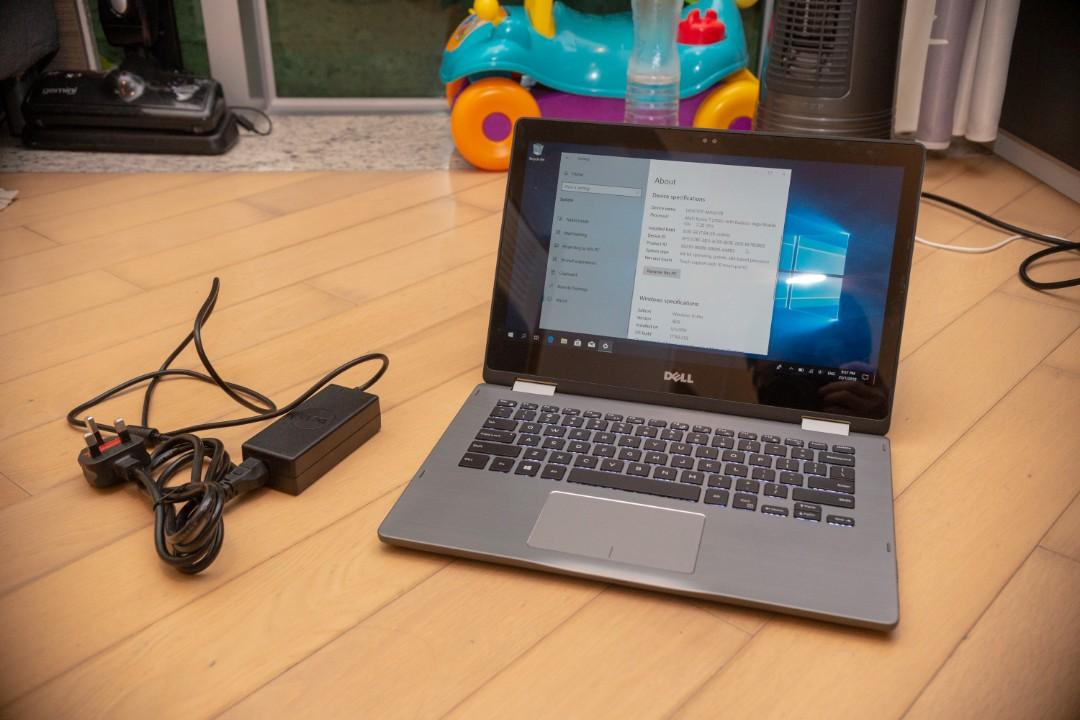 Dell Inspiron 7375 電腦-平板二合一 7成新(8gb ram / 256gb SSD / Ryzen 2700u)快過 i7  8550u!