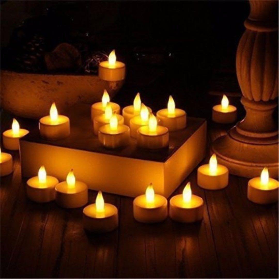 Flameless Tealight Candles