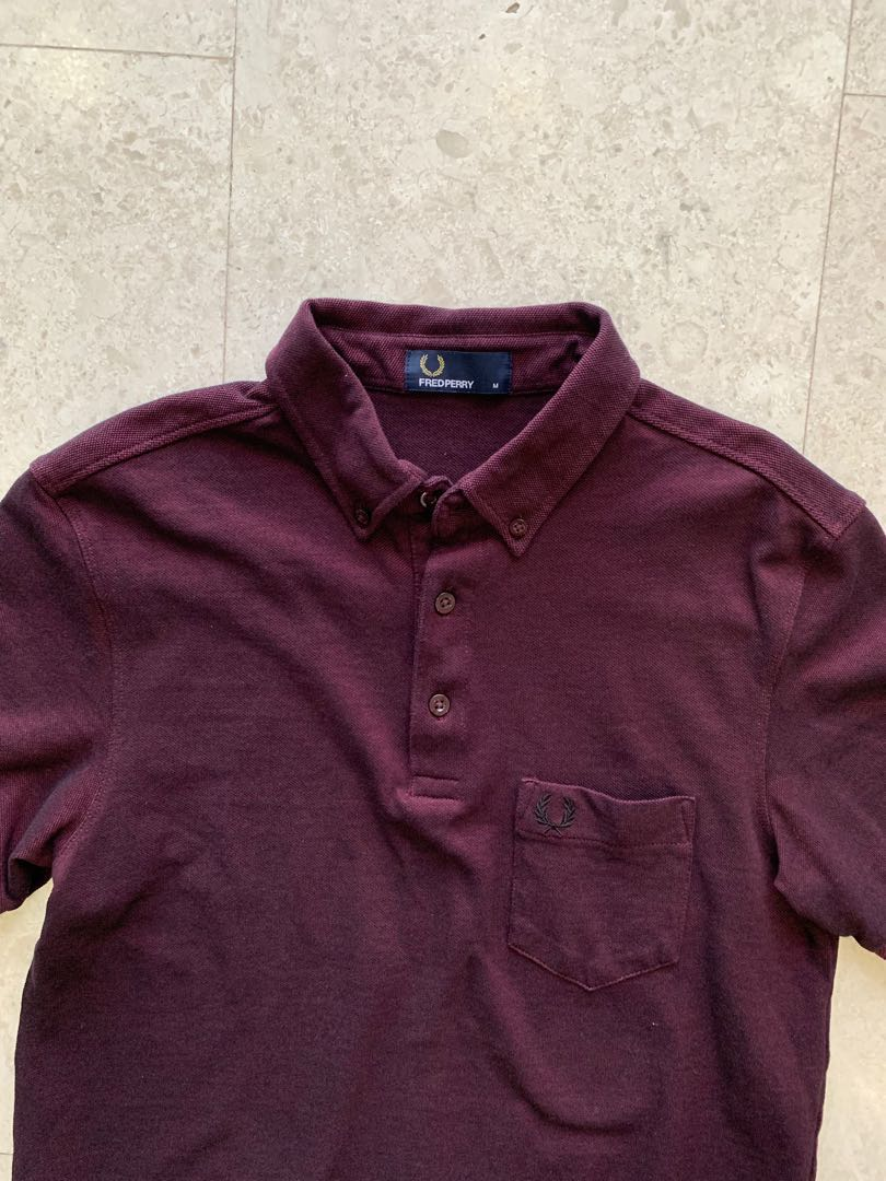 50f3cfaaf Fred Perry T shirt (size M), Men's Fashion, Clothes, Tops on Carousell