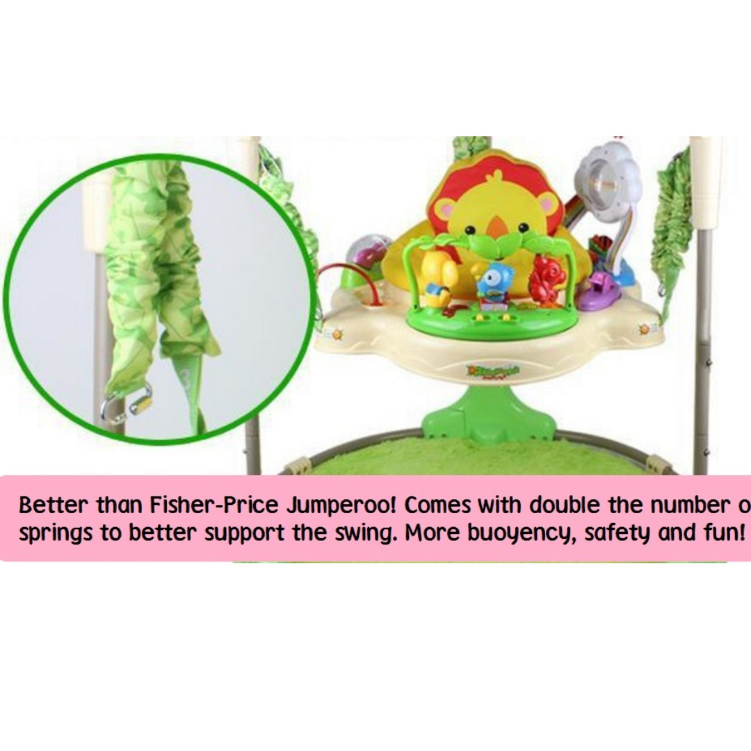 2cdc8e85d7c0 ☆FREE CARPET☆FREE DOODLE BOARD☆FREE DELIVERY☆Rainforest Jumperoo ...
