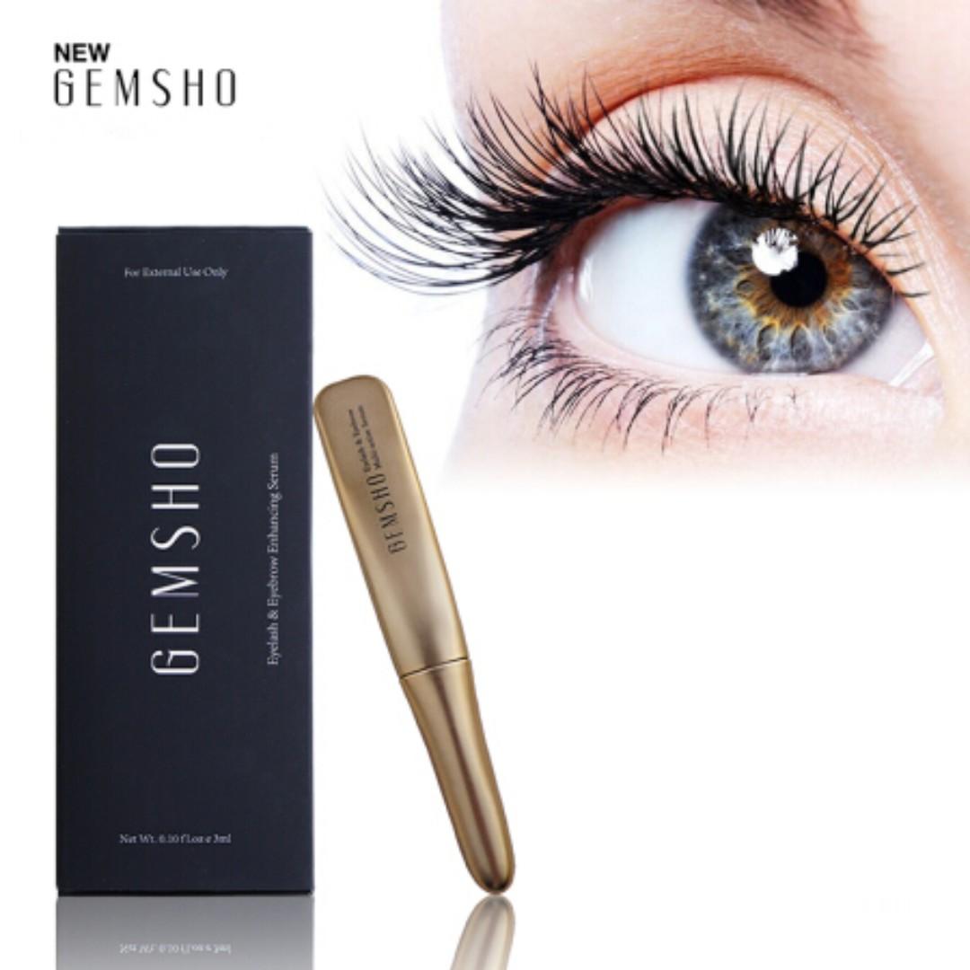 5ebf18a6d6d GEMSHO Eyelash Serum, Health & Beauty, Makeup on Carousell