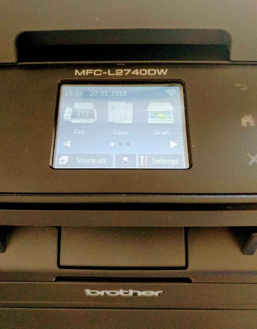 Great condition - Mono Laser Printer + Brand new toner