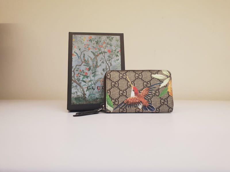 3eda70fbd04053 Gucci - Men's Bird Series Card Holder, Men's Fashion, Bags & Wallets,  Others on Carousell