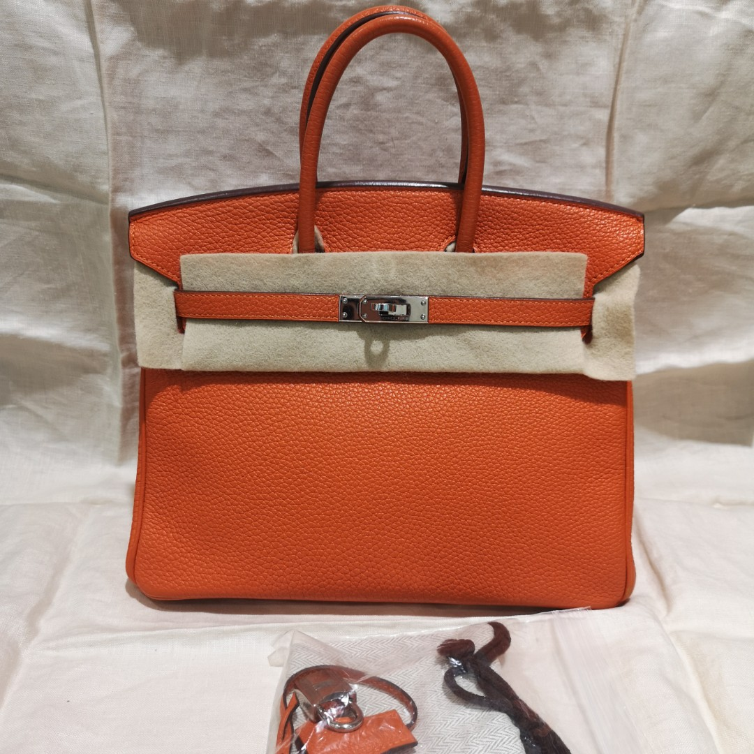 d6c60ce23ee Hermes Birkin 25 orange新春on sale大吉大利