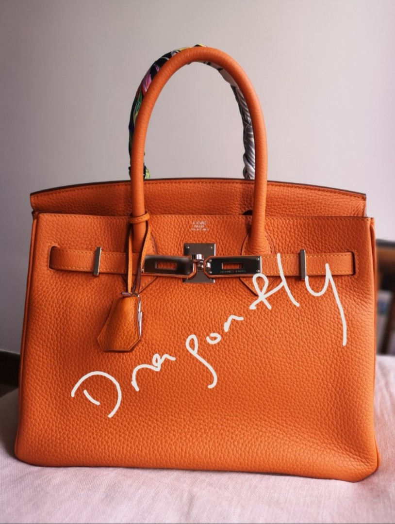 8d8ee7cac7 Hermes Birkin 30cm Togo Twilly NOT included.