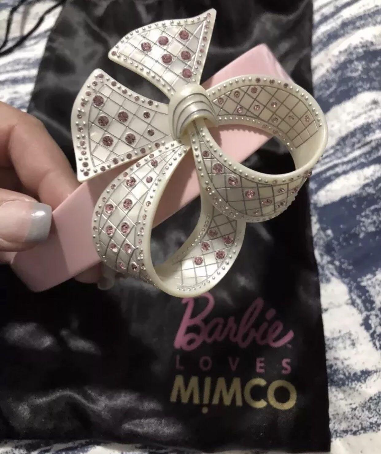 Mimco Loves Barbie Headbands and Cuff Collectors Items
