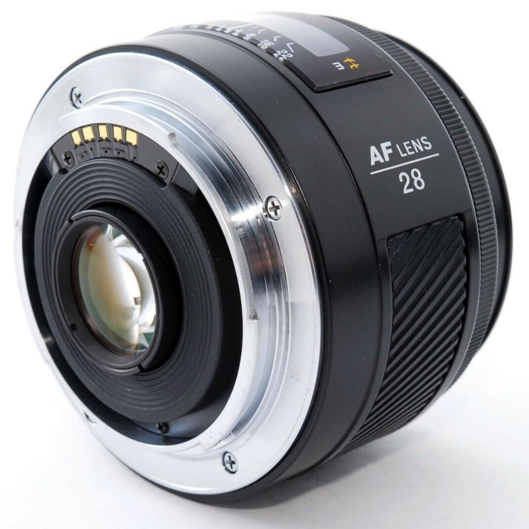 Minolta AF 28mm F/2.8 wide angle Lens for Sony A mount