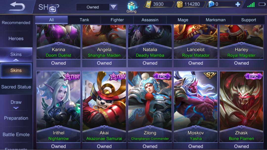 Mobile Legends Account, Toys u0026 Games, Video Gaming, Video