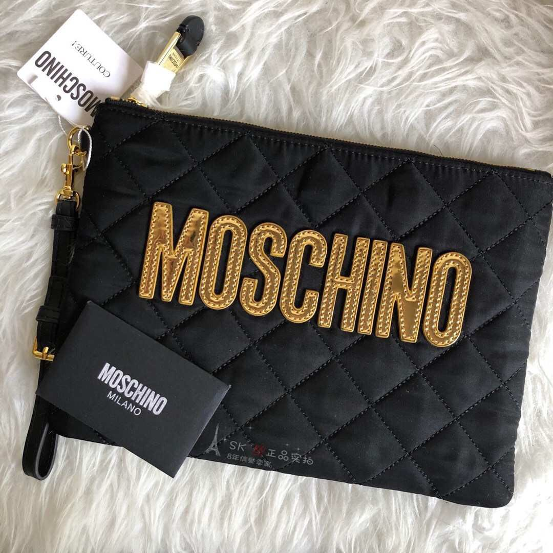 f6959a44cace5c Moschino Clutches, Women's Fashion, Bags & Wallets, Clutches on ...