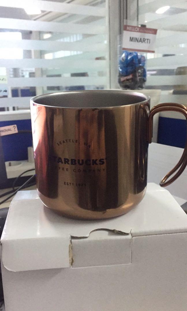 Mug starbucks original stainless baru