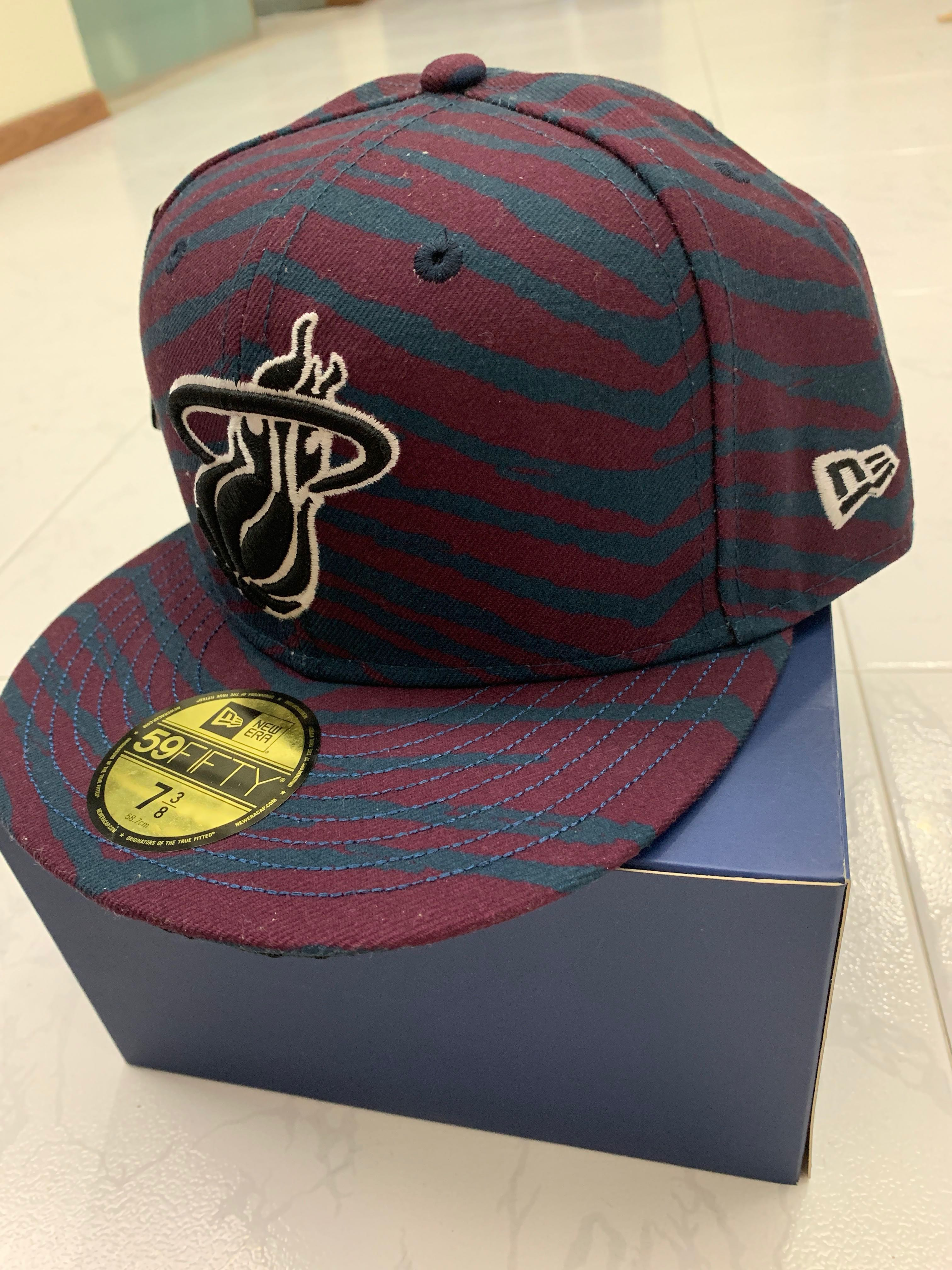 d5ce712e130 NBA heat cap by new era