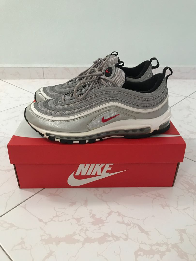 timeless design 761c0 5909c Nike Air Max 97 Silver Bullet, Men s Fashion, Footwear, Sneakers on ...