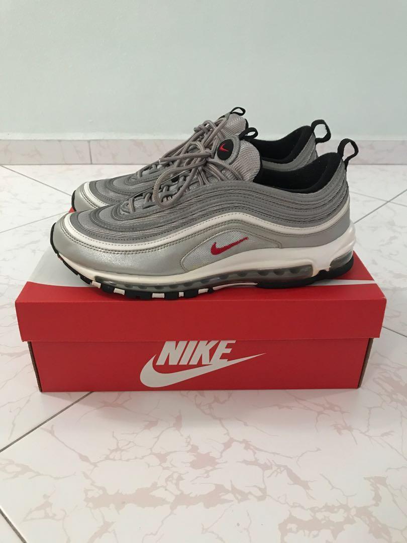83af6b65ba342 Nike Air Max 97 Silver Bullet