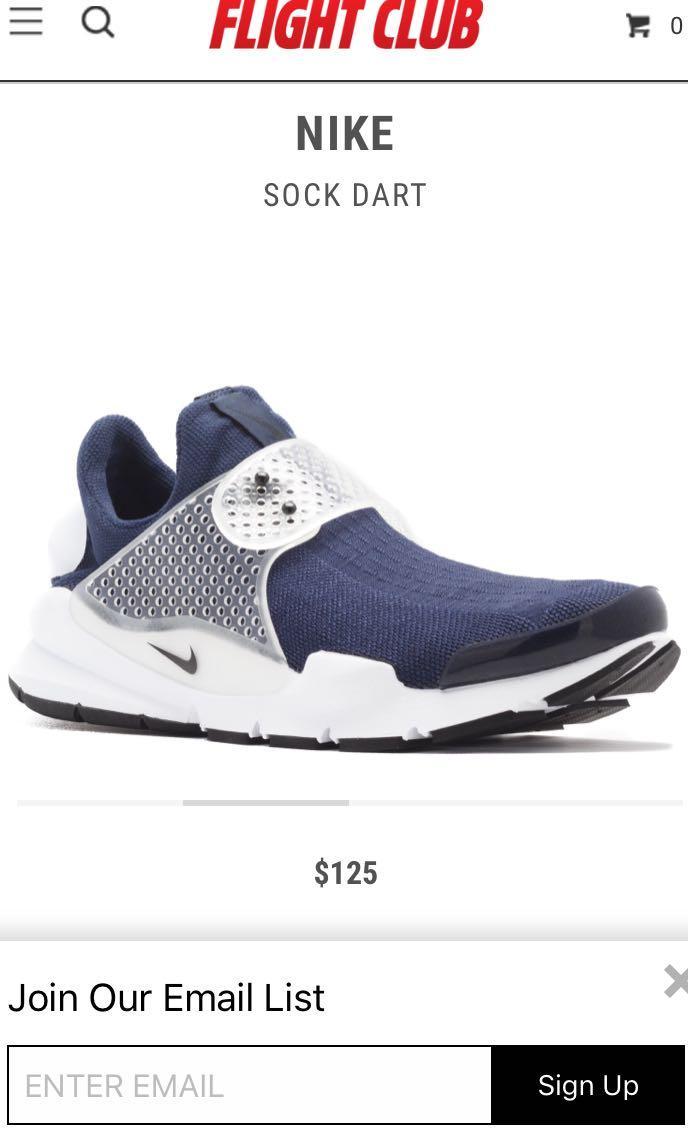 Nike sock dart 藍色