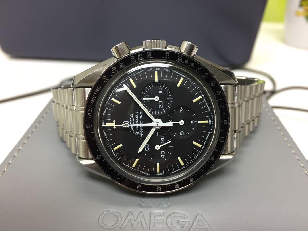 Omega Speedmaster Moonwatch T Dial Full Set Men S Fashion Watches