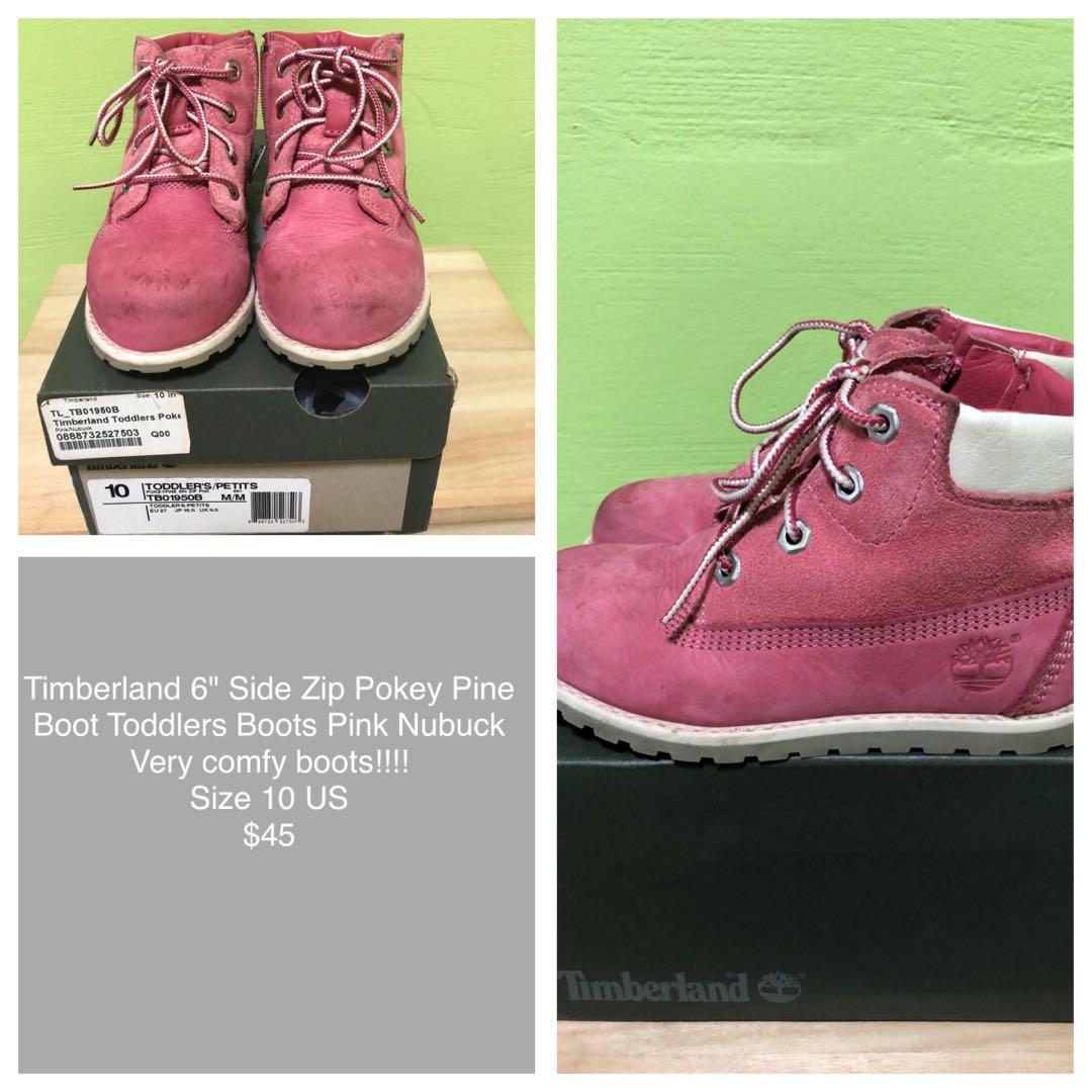 PL Timberland boots in Pink, Babies