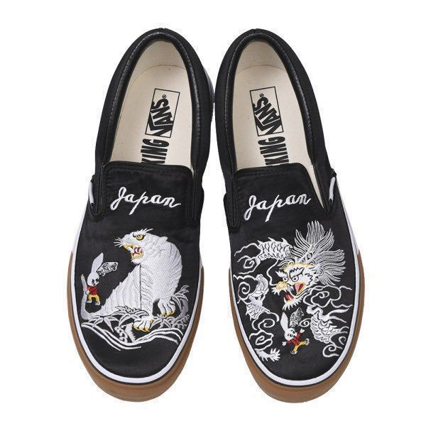 88117a72d02fca Pre Order Vans x Rollicking slip on JAPAN