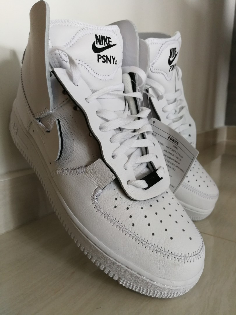 sports shoes 477d3 3cc7b PSNY Nike Air Force 1 Public School New York US10, 28cm, Men s Fashion,  Footwear, Sneakers on Carousell
