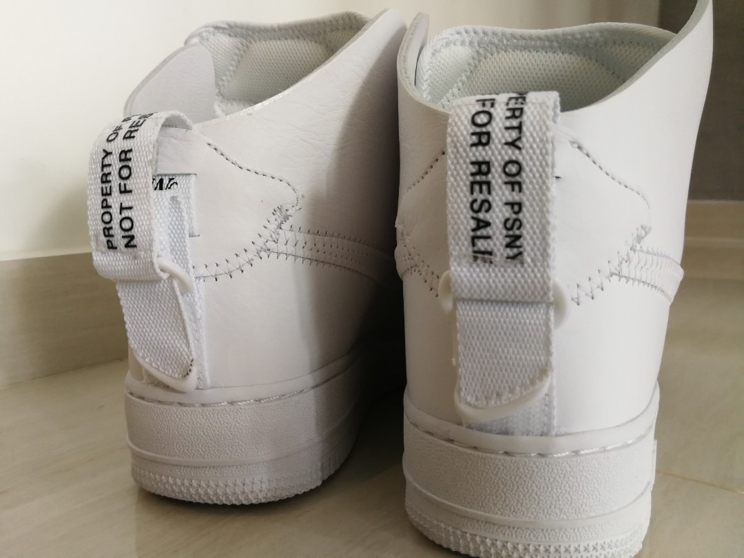sports shoes 1a11c ac2bd PSNY Nike Air Force 1 Public School New York US10, 28cm, Men s Fashion,  Footwear, Sneakers on Carousell