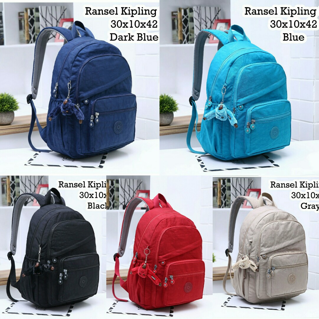 RANSEL KIPLING 6263  Tas Fashion Wanita Impor Murah f1c5741db3