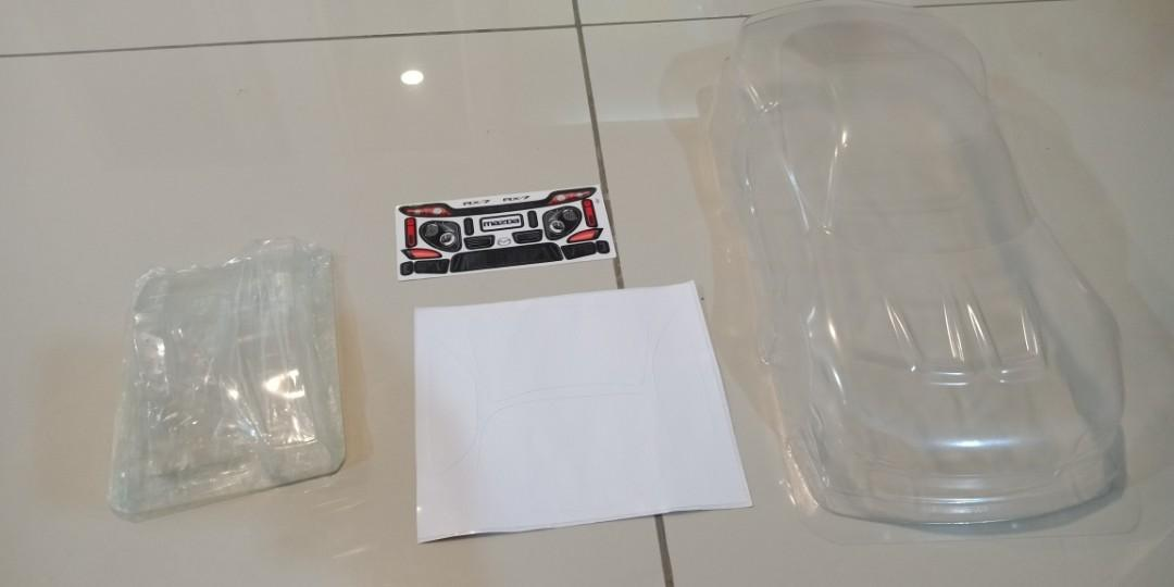 RC Rx7 Body Shell (suitable for tamiya TA05 M chassis only)