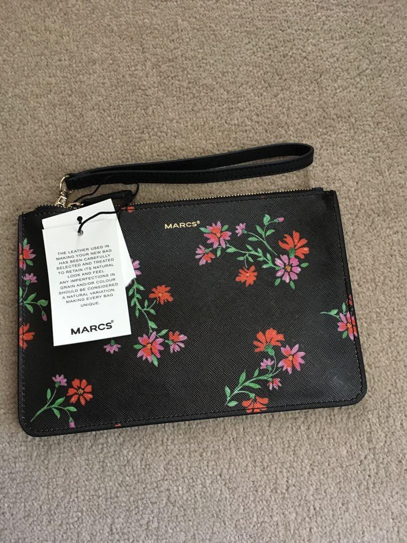 REDUCED PRICE MARCS Floral Pouch