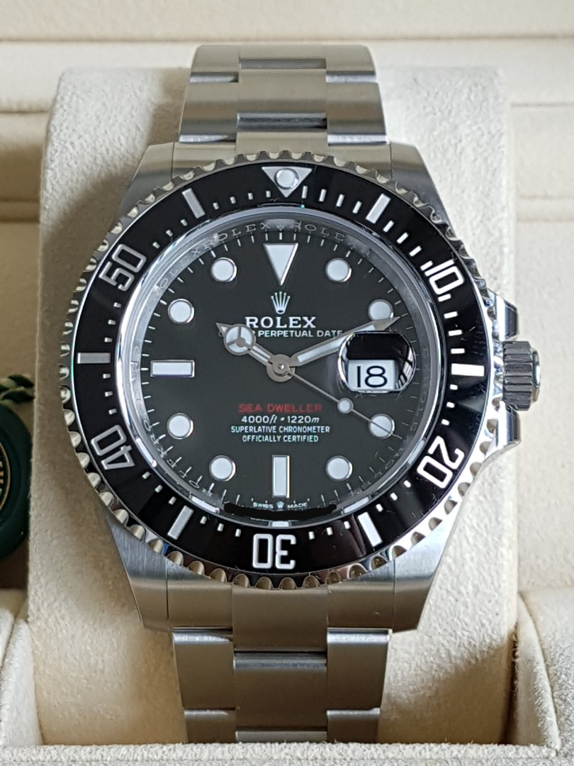 c82405ba83f7d Rolex Sea Dweller 126600, Luxury, Watches on Carousell