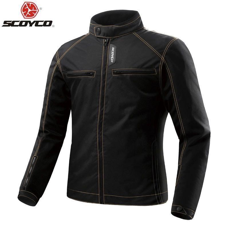 Scoyco Jk49 Motorcycle Jacket Summer Motorbikes Motorbike Apparel