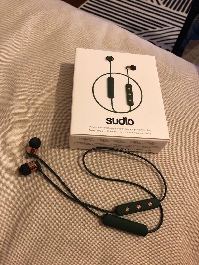 二手|Sudio Tio 墨綠 運動 藍牙耳機