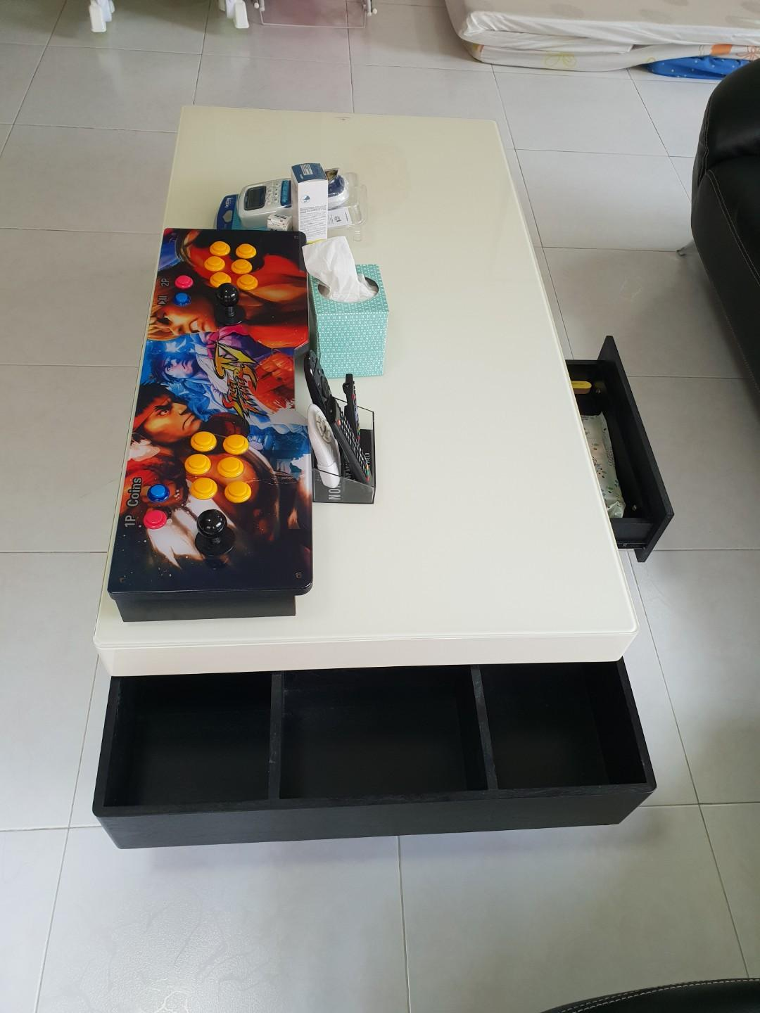 Tempered Gl Coffee Table No