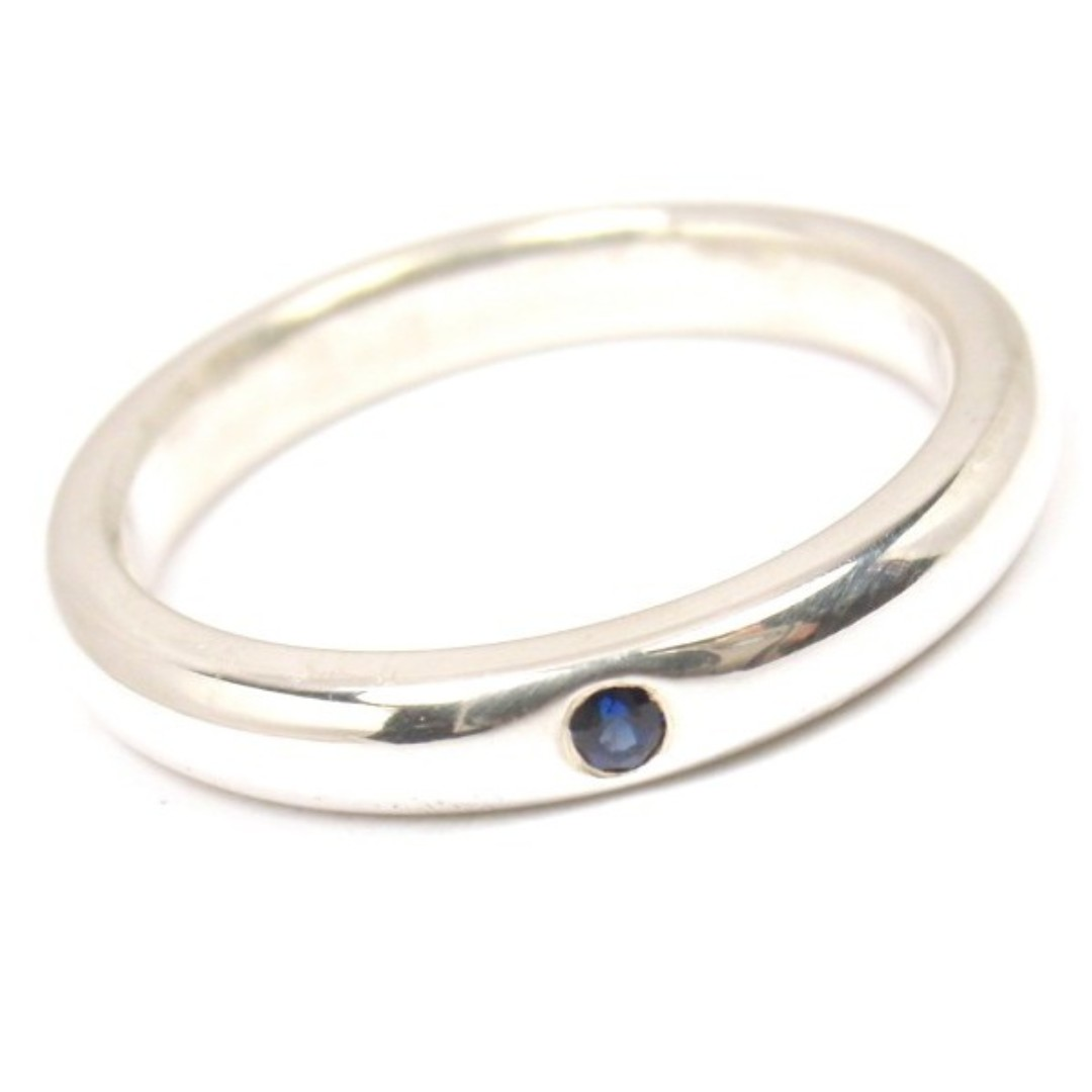 495bec7e1 Tiffany & Co Elsa Peretti Blue Sapphire Stacking Ring, Luxury, Accessories,  Others on Carousell